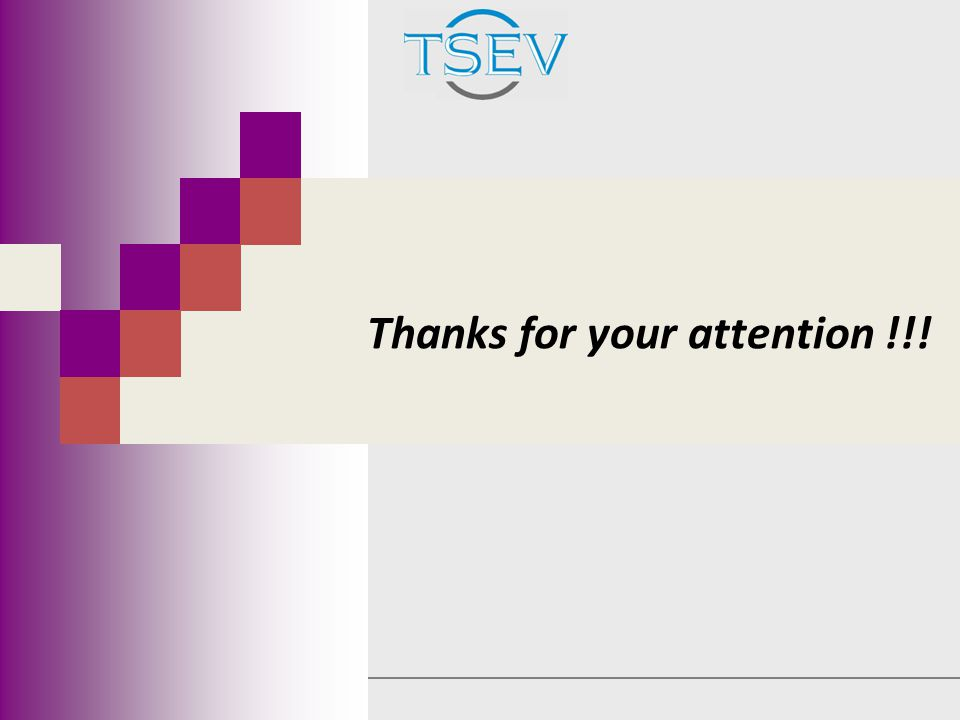 Thanks for your attention !!!