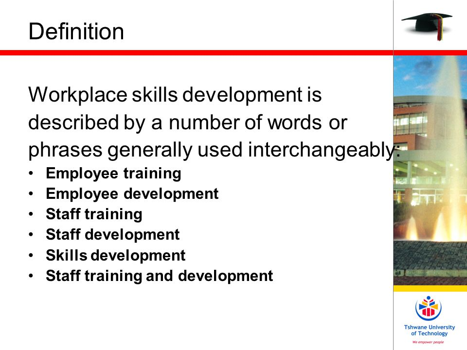 Why develop employee skills.