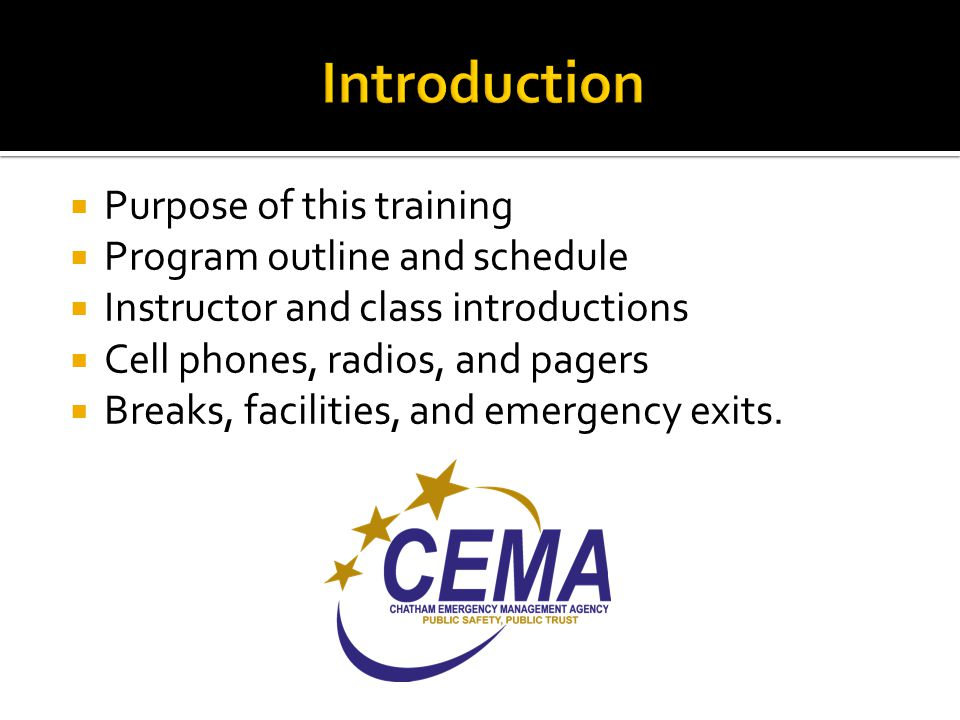  Forms that are used by all EOC Positions:  EOC-123 – Credentialing and Accountability  EOC-124 – Reporting for Duty Checklist  EOC -126 – Staff Position Shutdown  EOC-128 – After Action Critique  ICS-211 – EOC Check-In/Check-Out  ICS-213 – EOC Message Form  ICS-214 – EOC Unit Log  EOC-237 – Shift Change Briefing  EOC-238 – Position SitRep.