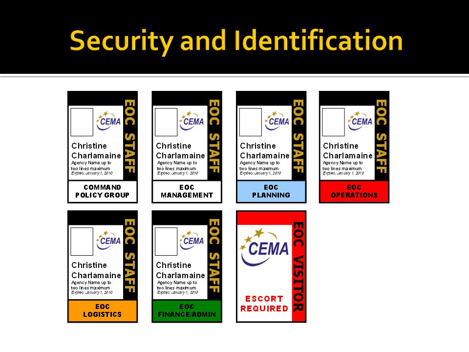 Security and Identification