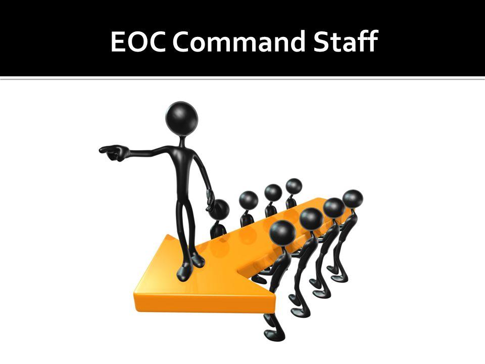 EOC Command Staff