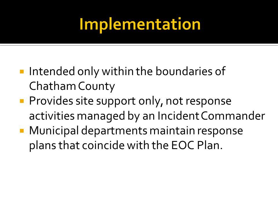 EOC Command Staff Org Chart