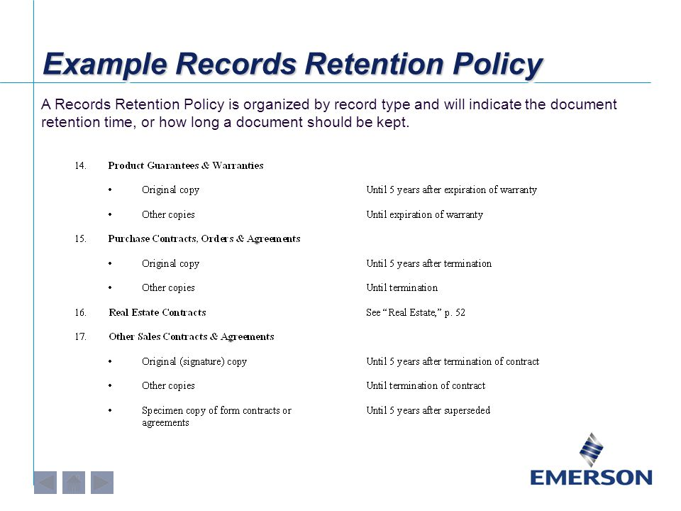 Why is Records Management Important.
