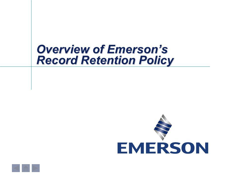 Annual Records Compliance Process 2.