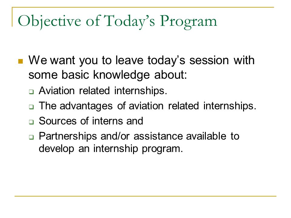 Internship 101—Co-ops The typical program plan is for students to alternate terms of full-time classroom study with terms are full-time, discipline-related employment.