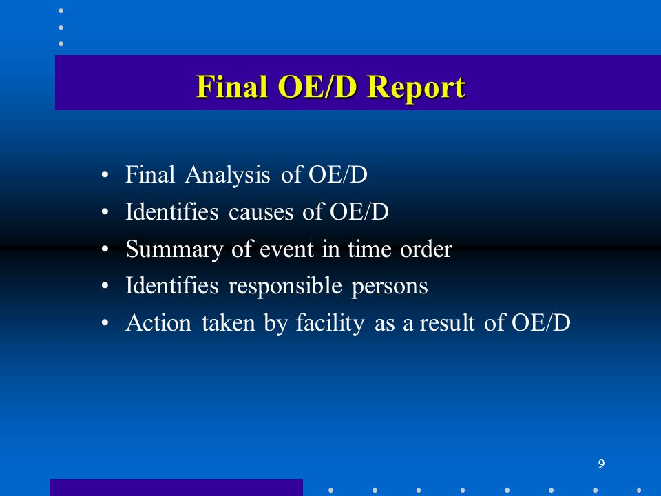 10 Follow-Up From Investigation Changes to procedures Changes to airspace Additional training Controller performance review Supervisory performance review Follow-up tape reviews Increased oversight by headquarters