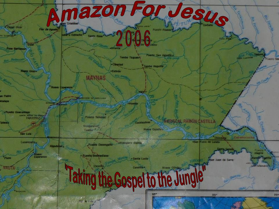 Miguel Perez Garces – Bible Worker Monica del Rocio Pfenning There is a river, the streams whereof shall make glad the city of God, the holy place of the tabernacles of the most High.