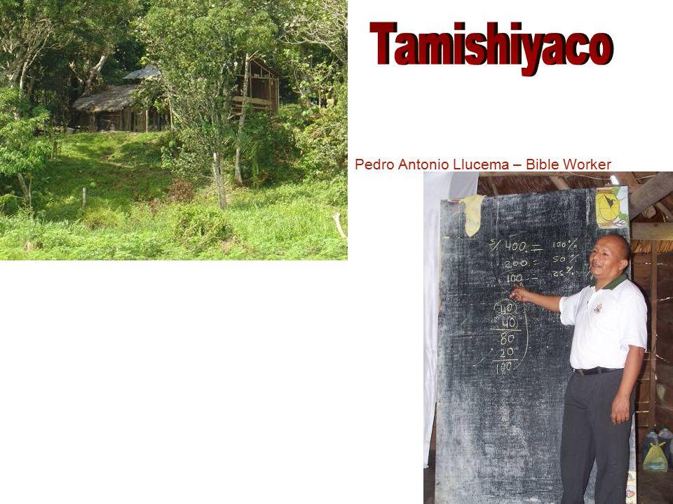 Betty Tuesta de Fonseca Liliana Fonseca (Photo not available) Chapel construction site in Iquique.