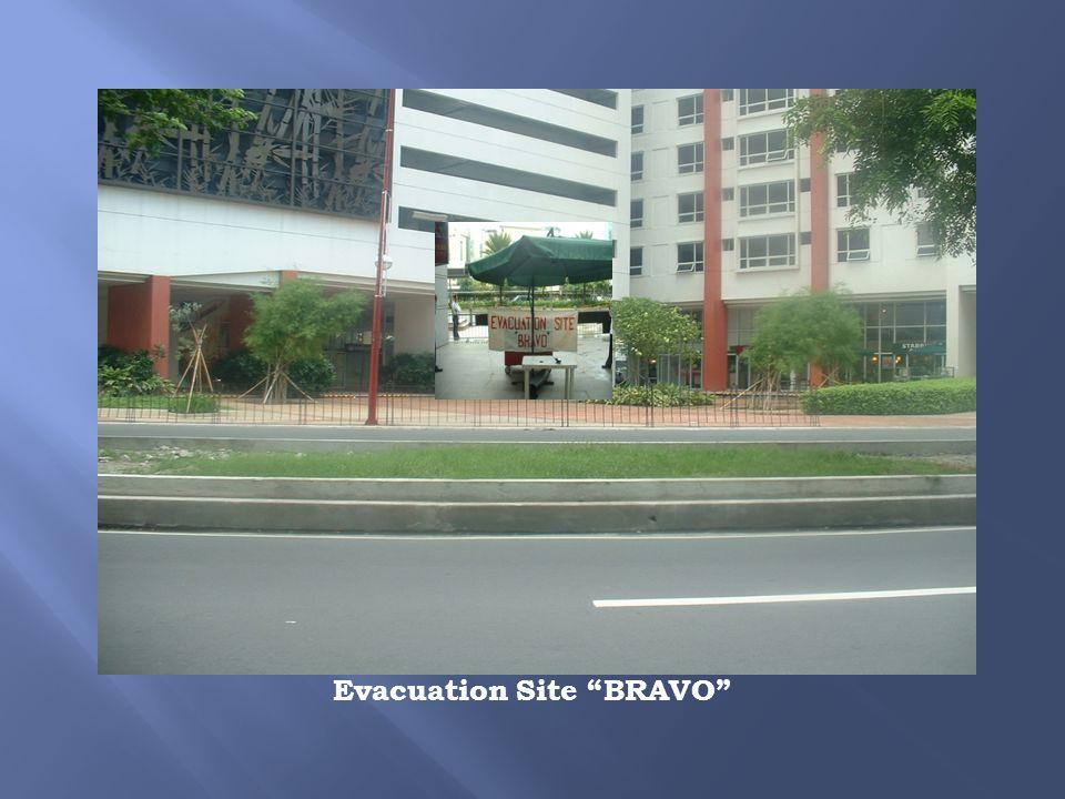 Evacuation Site BRAVO