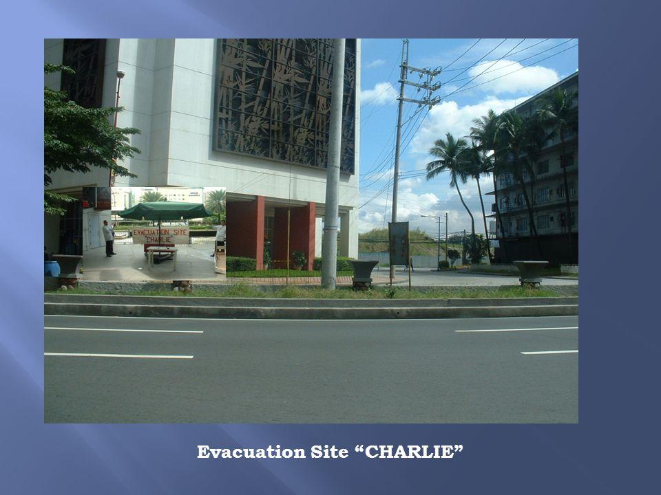 Evacuation Site CHARLIE