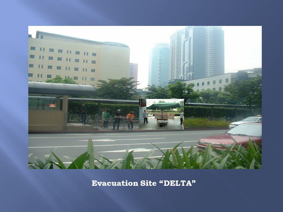 Evacuation Site DELTA