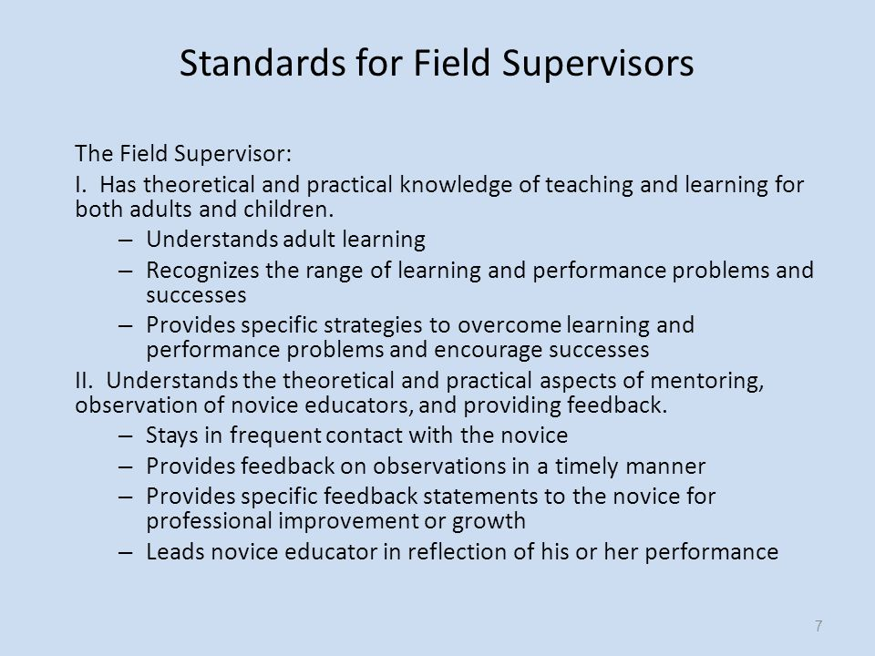 III.Understands the functions and methods of K-12 public and private schools.