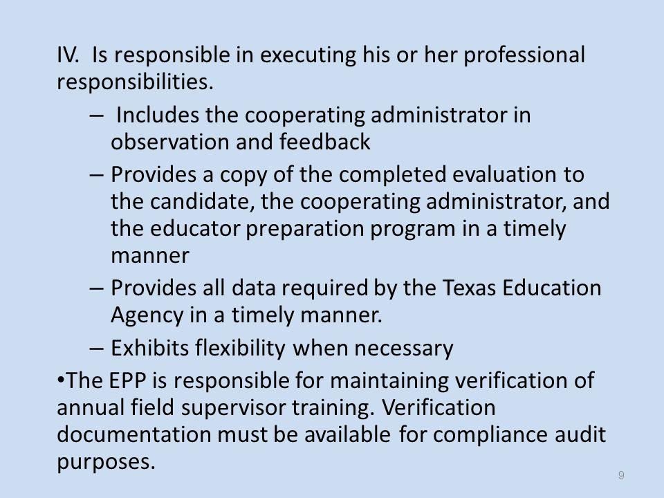 On-Going Educator Preparation Program Support.