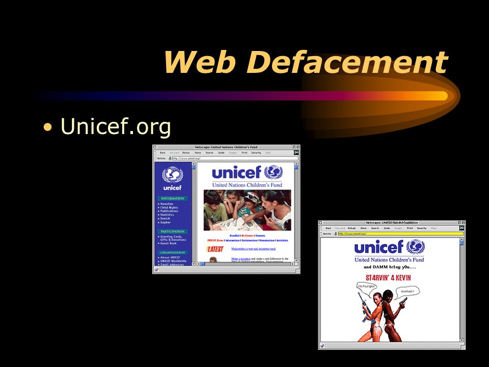 Web Defacement Unicef.org