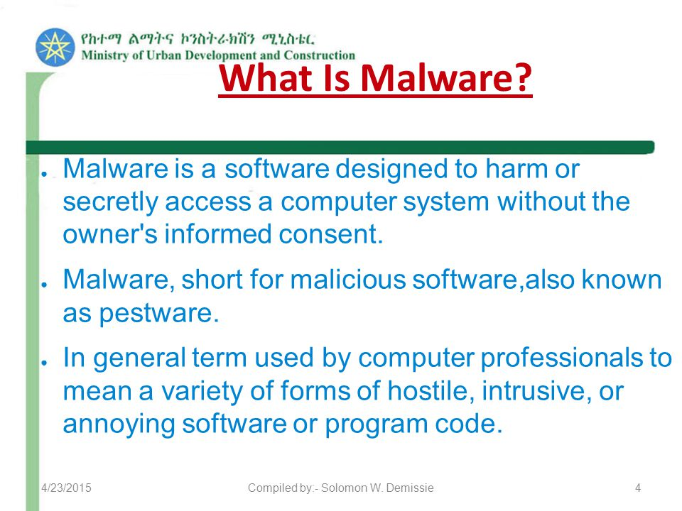 What Is Malware.