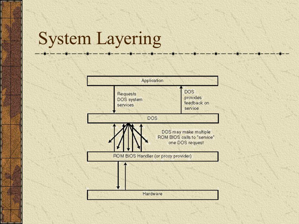 System Layering