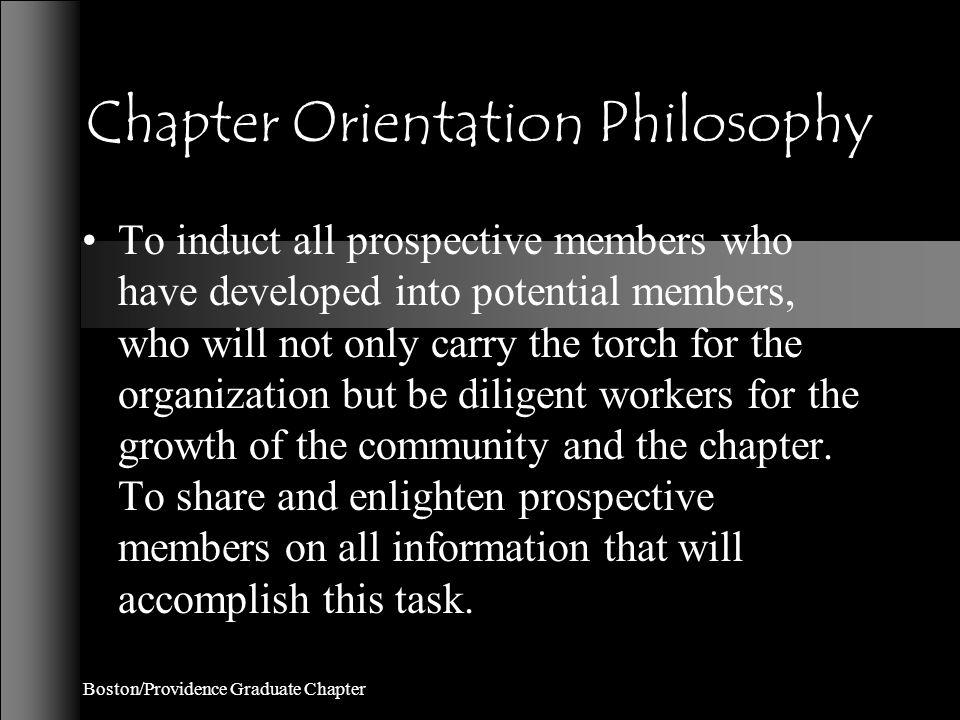 Boston/Providence Graduate Chapter