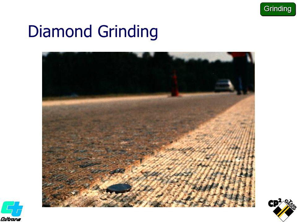 Diamond Grinding Grinding