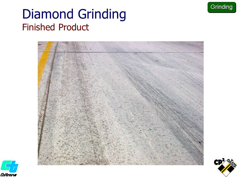 Diamond Grinding Finished Product Grinding