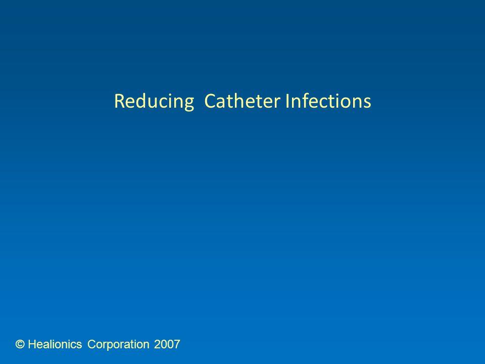 © Healionics Corporation 2007 Reducing Catheter Infections