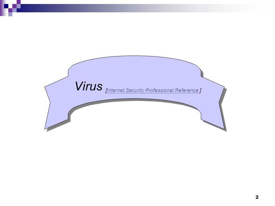 2 Virus [Internet Security Professional Reference ]Internet Security Professional Reference