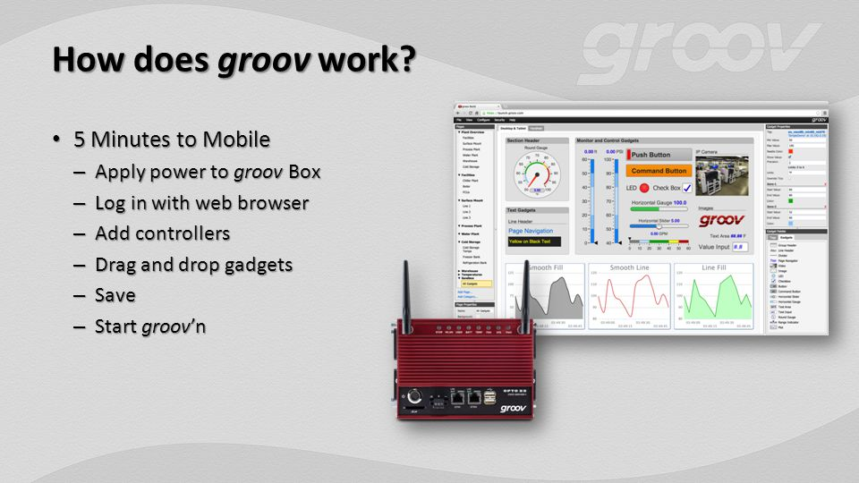 How does groov work.