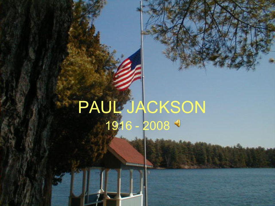 PAUL JACKSON 1916 - 2008