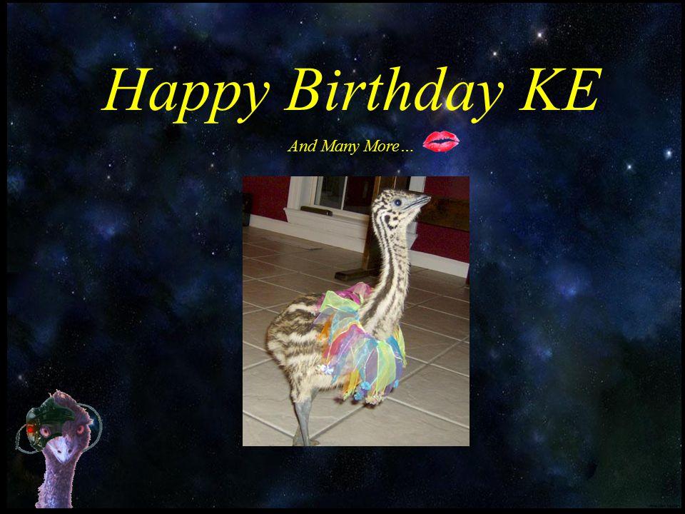 Happy Birthday KE And Many More…