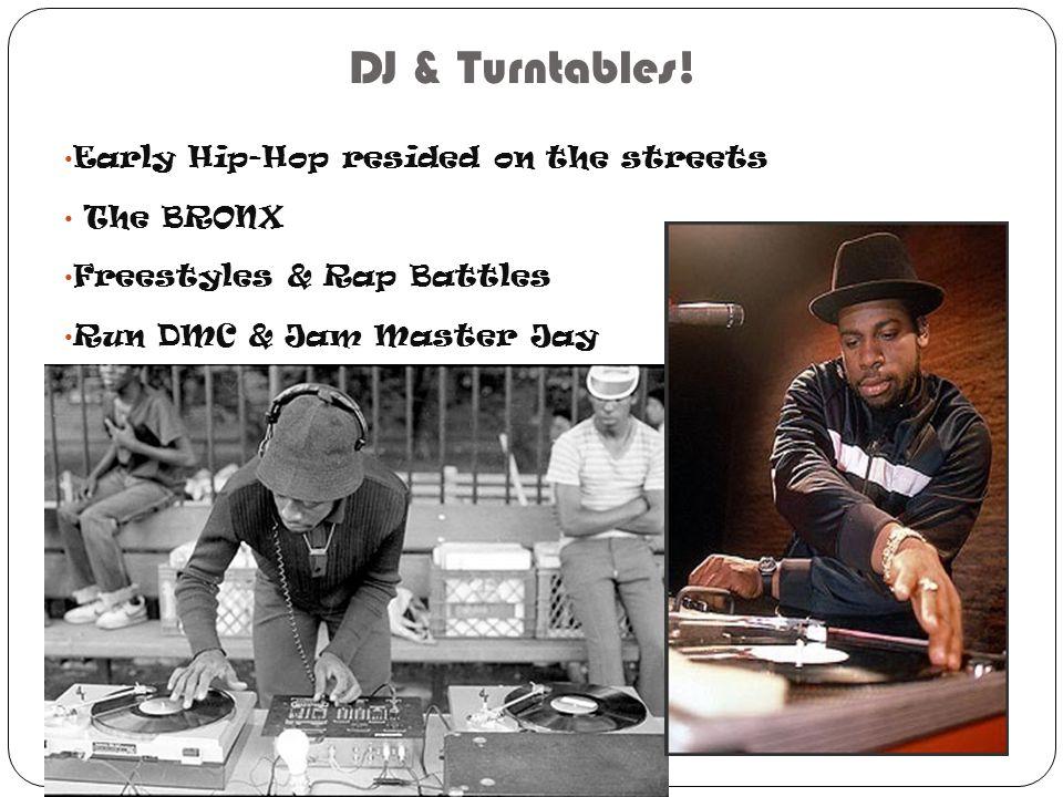DJ & Turntables.