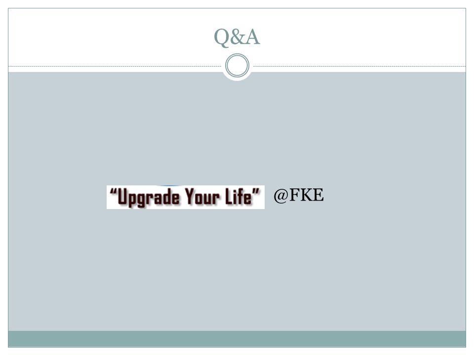 Q&A @FKE