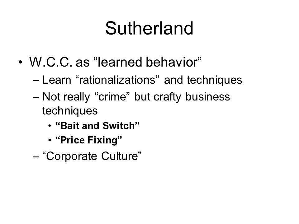 Sutherland W.C.C.