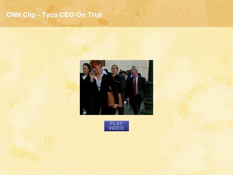 CNN Clip - Tyco CEO On Trial