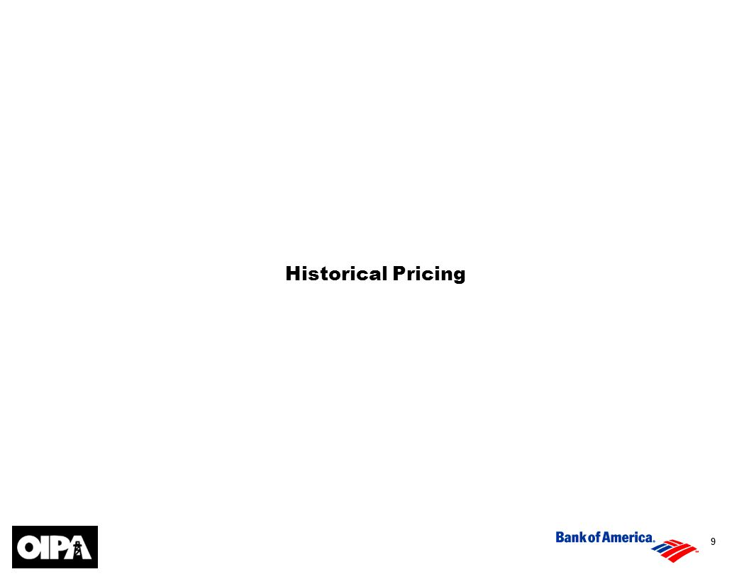 9 Historical Pricing