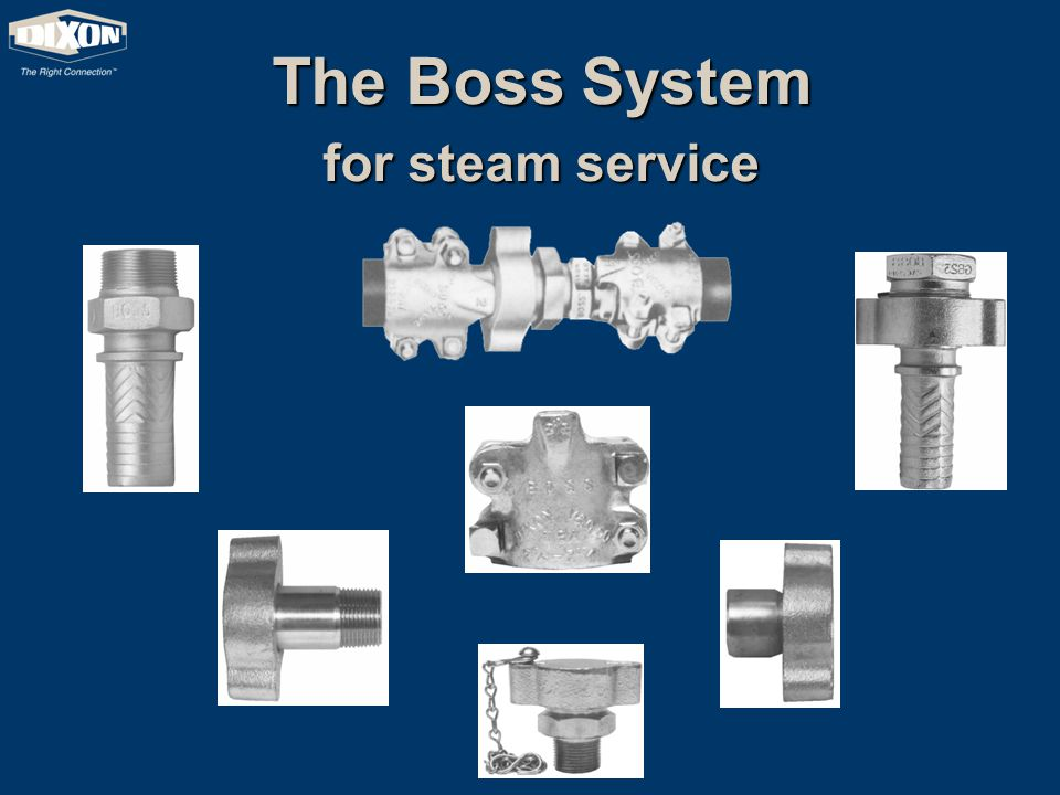 The Boss System for steam service