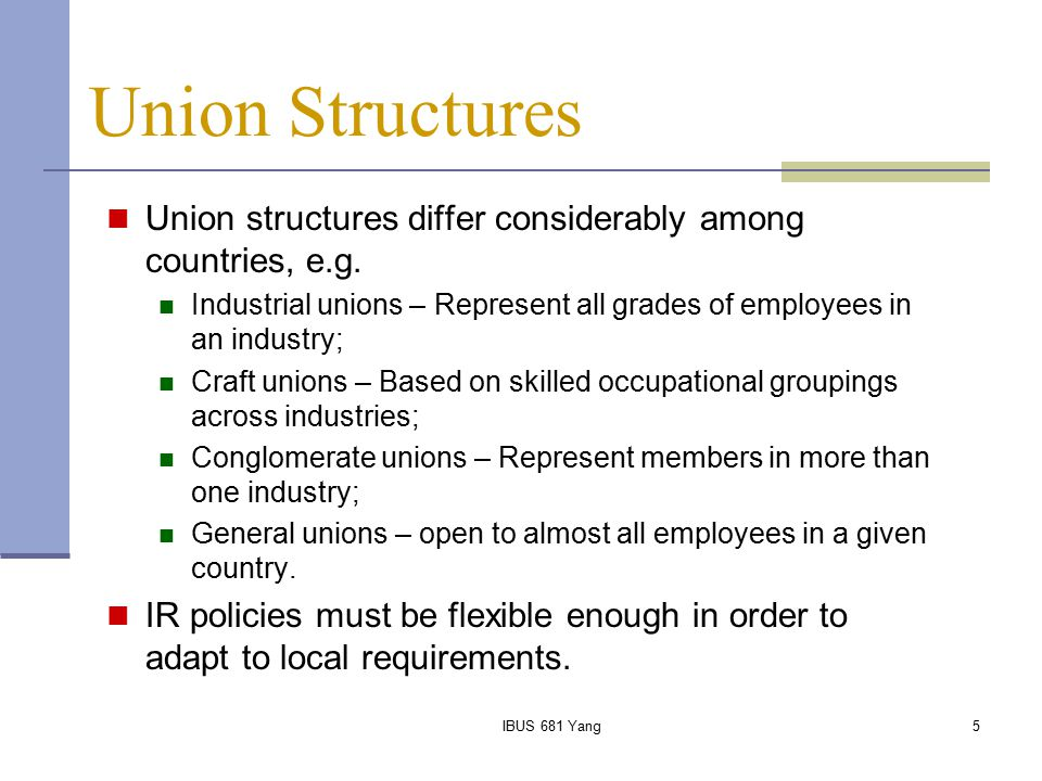 IBUS 681 Yang16 Industrial Disputes and Strike Proneness Hamill examined strike-proneness of multinational subsidiaries and indigenous firms in Britain across three industries.