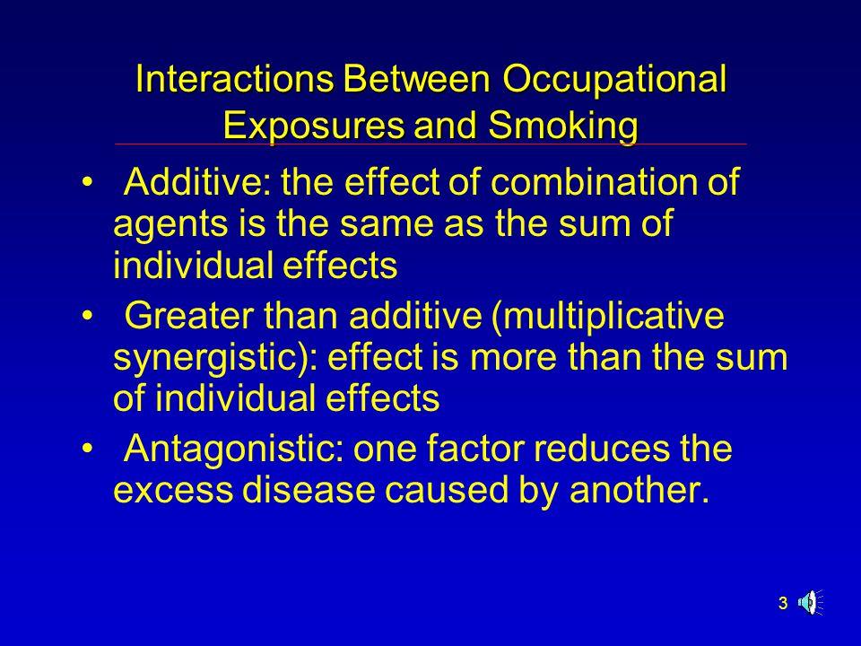 34 Bladder Cancer Causative factors (recognized or strongly suspected): smoking, benzidine, benzidine dyes, 3,3-dichlorobenzidine, nitrobiphenyl, 4,4-methylene-bis(2-chloroaniline) (MOCA), 4,4-methylene dianiline (MDA).