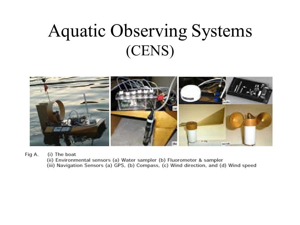 Aquatic Observing Systems (CENS)