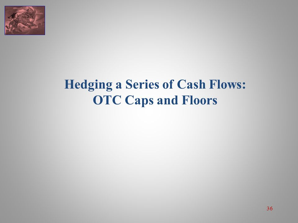 36 Hedging a Series of Cash Flows: OTC Caps and Floors