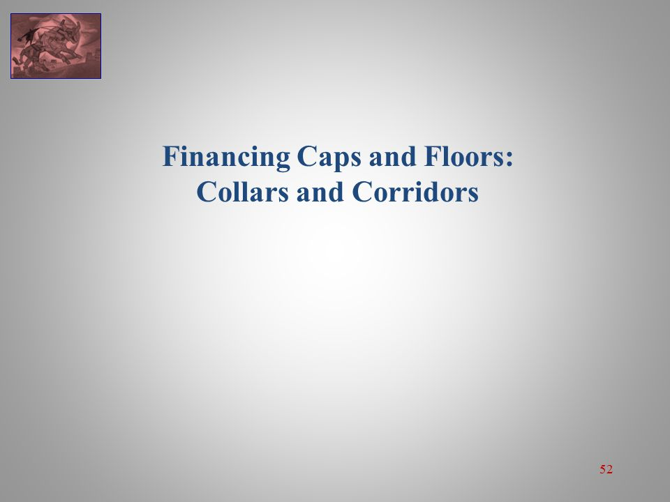 52 Financing Caps and Floors: Collars and Corridors