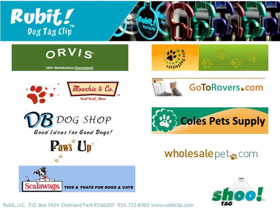 Rubit, LLC. P.O. Box 7424 Overland Park KS 66207 913-713-8303 www.rubitclip.com