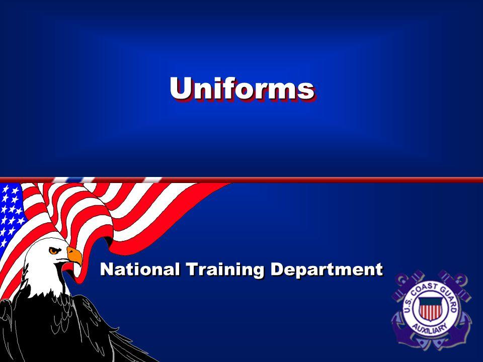 UniformsUniforms National Training Department