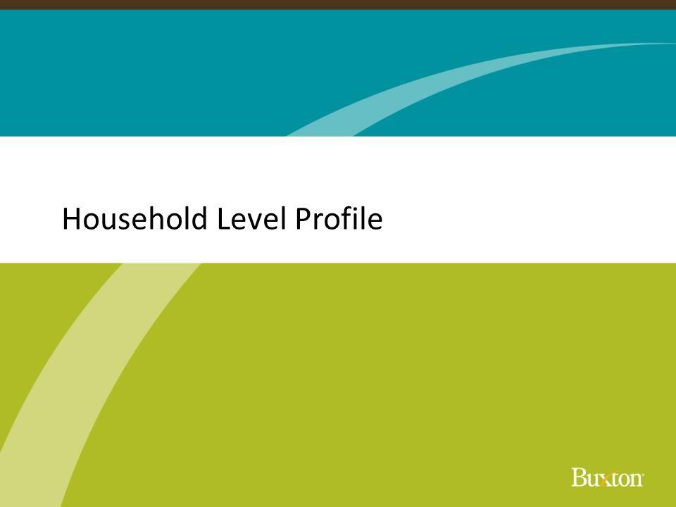 Household Level Profile