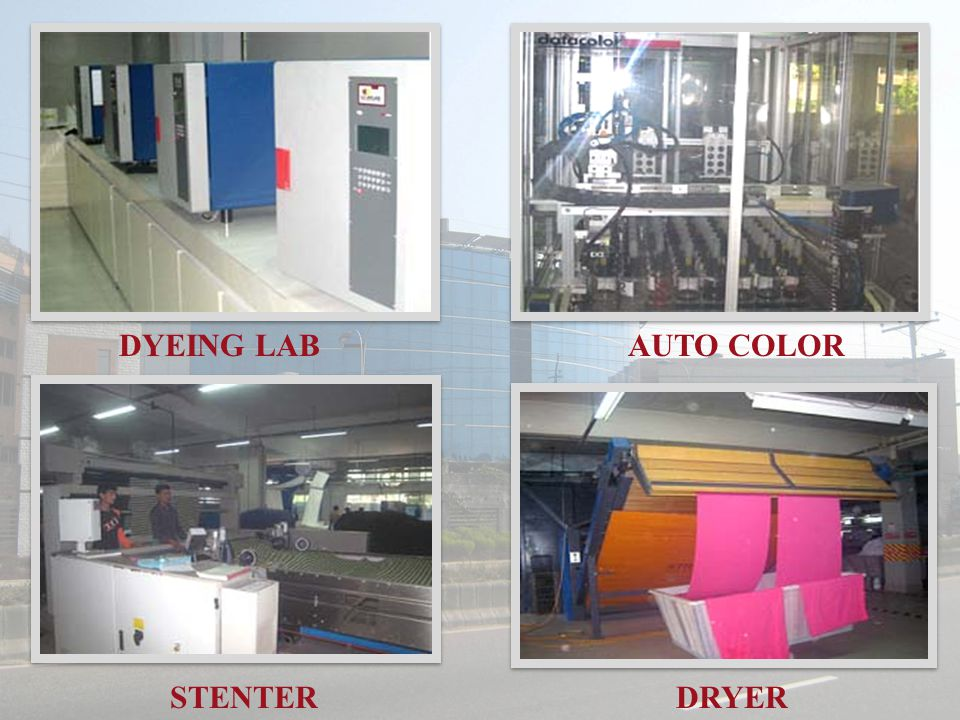 DYEING LAB STENTER AUTO COLOR DRYER