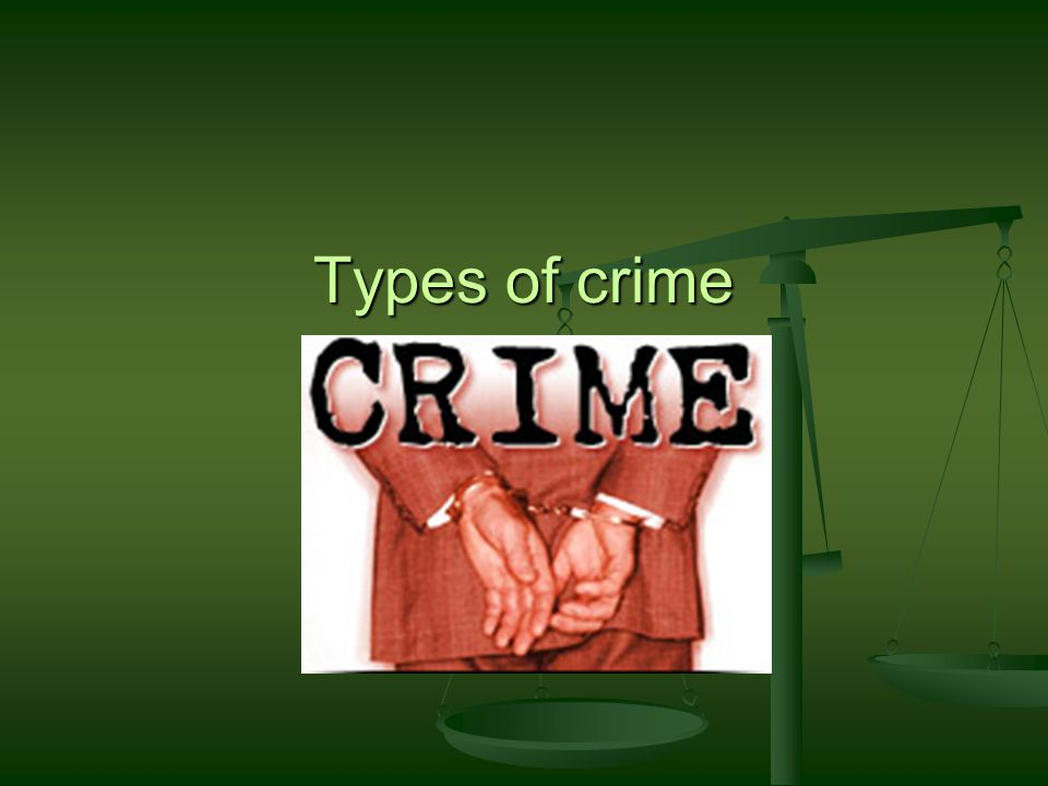 White collar crime: Tax evasion One of the most common WCC One of the most common WCC Ranges from fraudulently completing tax return to elaborate tax avoidance schemes involving millions of dollars Ranges from fraudulently completing tax return to elaborate tax avoidance schemes involving millions of dollars