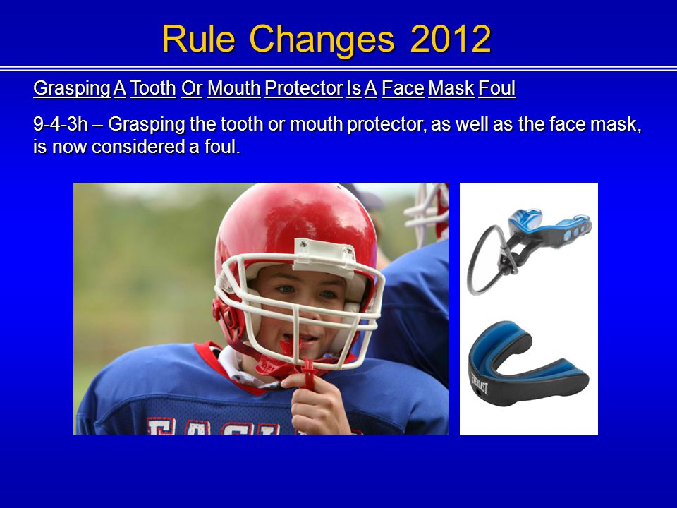 Rule Changes 2012 Direction Of The Pull During A Horse Collar Tackle Clarified 9-4-3k – A horse collar tackle is grabbing the inside back or side collar of the jersey or shoulder pads of the runner and subsequently pulling backward or sideward that player to the ground, even if possession of the ball is lost.