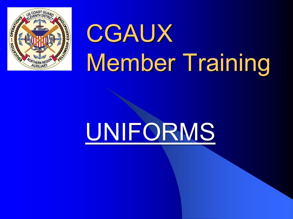 Necessary Accessories - ODU l All new members must obtain the following accessories to complete the basic version of the Operational Dress Uniform: –U.