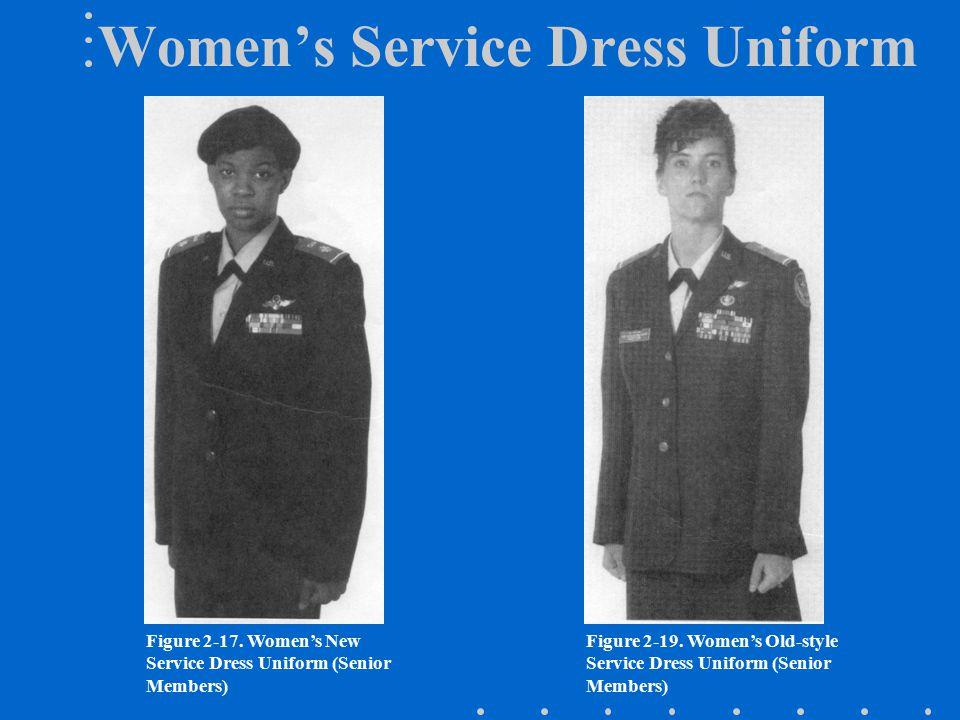 Women's Service Dress Uniform Figure 2-17.