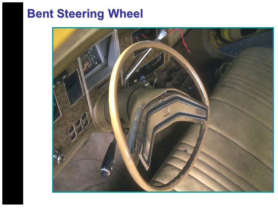 Bent Steering Wheel