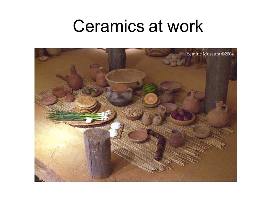 Ceramics at work