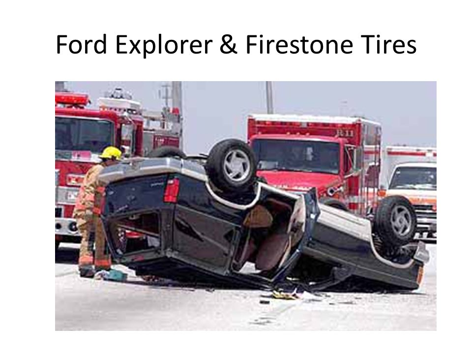 Ford Explorer & Firestone Tires